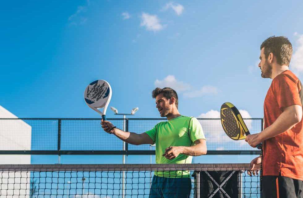lezione di padel tennis