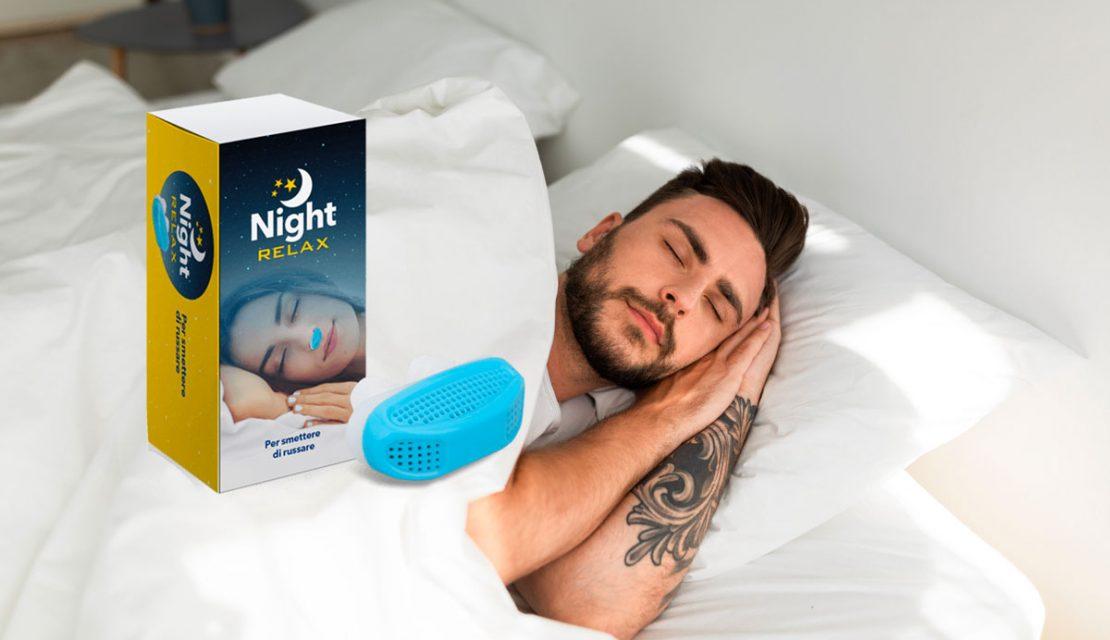 night relax dilatatore nasale